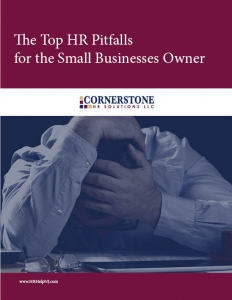 Top HR Pitfalls for the Small Business Owner Cover Only